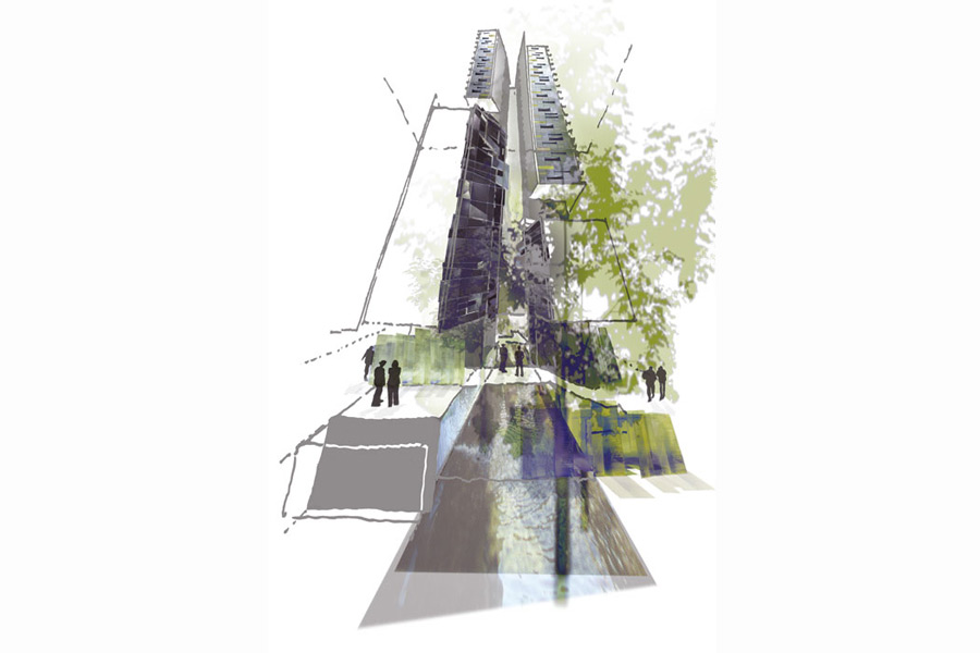 161 Clarence St Residential Tower Tonkin Zulaikha Greer Architects
